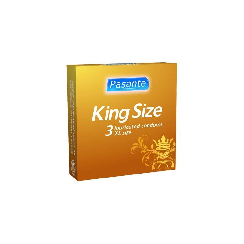 Condones King Size XL -3uni-
