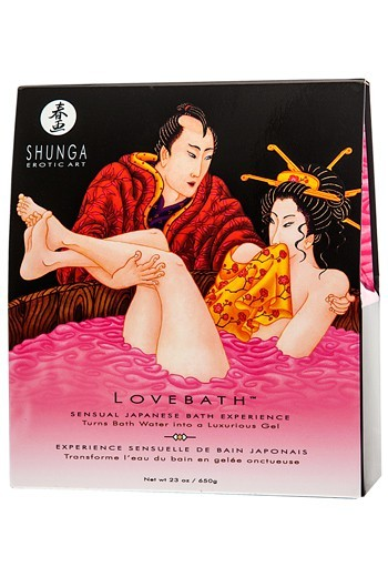 Shunga Lovebath -Dragon Fruit